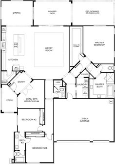 barndominium ideas floor plans Bathroom Floor Plan Design Bathroom Floor Plan Design - Bathroom Floor Plan Design SILVER SPRING, MD A anew complete Craftsman, amid accoun The Plan, How To Plan, Pardee Homes, Barndominium Floor Plans, Bathroom Floor Plans, Single Story Homes, House Blueprints, Mediterranean Homes, Dream House Plans