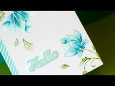 Video: Watercolor and Stamping... + Blog Hop + GIVEAWAYS - Jennifer McGuire Ink