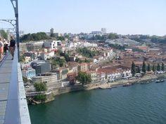 Vistas desde el puente de Vila Nova da Gaia #Oporto