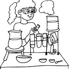 science coloring pages - Science Pictures To Color