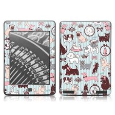 DecalGirl Kindle Touch Skin - Doggy Boudoir (does not fit Kindle Paperwhite) by DecalGirl. Save 50 Off!. $7.49. DecalGirl skins for Kindle Fire feature distinct artwork printed in vibrant color onto premium adhesive-backed cast vinyl that is then sealed with a special sating/matte protective coating to reduce glare and prevent fingerprints. 100% MADE IN THE USA.