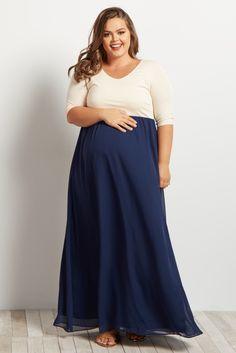 Plus Size Maternity Evening Dresses