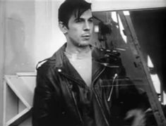 Young Leonard Nimoy in a Leather Jacket - Imgur