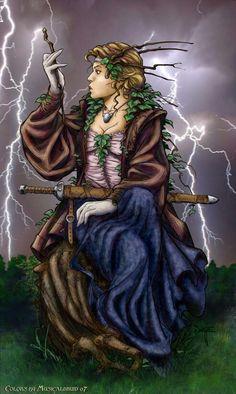 Fantasy art by Quinton Hoover