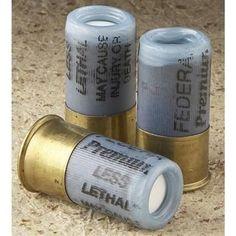 3 rounds Firequest Flash Thunder Grenade 12 Gauge Shotshells - 12 Gauge Shells at Sportsman's Guide Weapons Guns, Guns And Ammo, Survival Prepping, Survival Skills, Survival Items, Camping Survival, Shotshell Reloading, Firearms, Shotguns