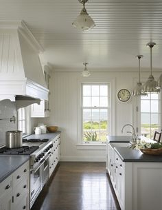 Post full of gorgeous kitchens! I'd love for A-M to do a kitchen remodel for me... or house remodel!