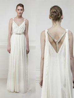 Imagine wearing this Mathew Williamson dress for dinner at Mezes on Chestnut St. San Francisco?  :-)