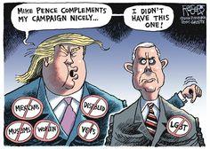 Rob Rogers Editorial Cartoon, July 19, 2016     on GoComics.com