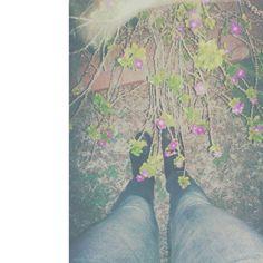 Garden girl in nature :)