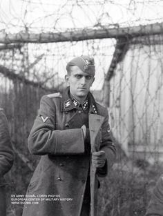 German soldier in WWII