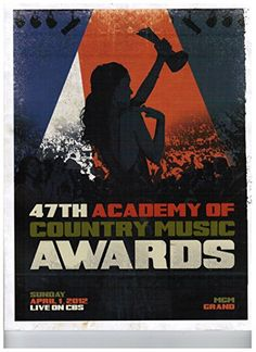 Academy of Country Music Awards 47th Annual 2012 Official Program - Mgm Grand Garden Las Vegas
