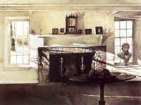 The Big Room ~ Andrew Wyeth