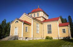 Uukuniemen kirkko vihittiin käyttöön v. 1797.
