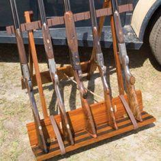 Admiral Baker Folding Gun Rack - Gun Racks - Gun Accessories - HUNTING ...