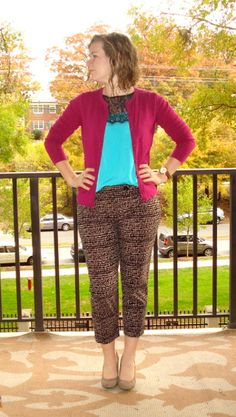 cropped ankle pants   Two Take on Style