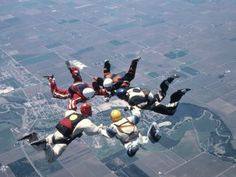 ok ya everyone has skydiving on their bucket list but still it looks awesome
