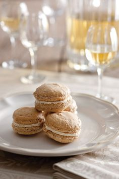 Virtually weightless, Hazelnut Macaroons are a textural treat of delectable sweetness.