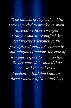 10 Most Powerful Quotes About 9/11
