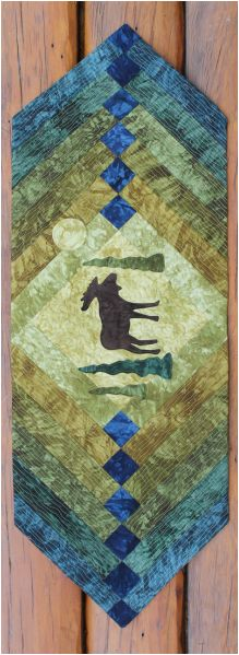 Moonlight Moose table runner kit now available