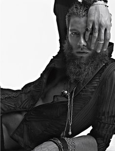 Andrea Marcaccini Goes Tribal for Elle Man Mexico image elle man002