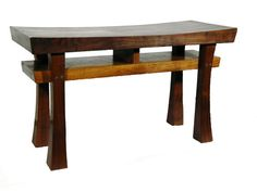 Asian Style Bench size large Made to Order Maple by BenchCrafts