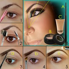 How to Shape Eyebrows in the Right Proportions | Makeup Mania