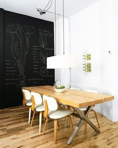 chalkboard wall by the style files, via Flickr