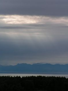 網走:てんとらんどキャンプ場より、知床連山を望む