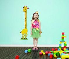 Çocuklarınızın odalarını renklendirecek ve gelişimini takip etmenizi sağlayacak sevimli boy ölçer!