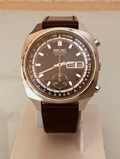 Reloj seiko chronografo Doctor Pulsations 6139-6022 vintage Seiko 5 Sports, Seiko Diver, Omega Watch, Watches, Ebay, Accessories, Vintage, Watch, Wrist Watches