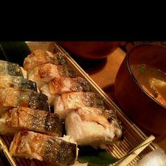 炙りサバ寿司!