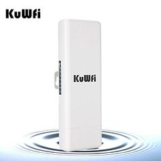 Kuwfi 150mbps Wireless Outdoor Cpe 2km Distance Outdoor Wireless Access Point Wifi Repeater Wifi Extender Bridge Cpe Router With Uk Poe Adapter