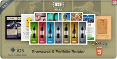 M.I.N.I Touchable Showcase & Portfolio Slider 8in1