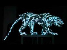 Video Mapping 3d sculpture, solo un ejemplo de lo que podras ver en alteroptica.    Para mas informacion ingresa:    www.alteroptica.tv