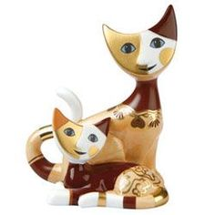 Rosina Wachtmeister - Porcelana Goebel Koty Rosina Wachtmeister Artis Orbis Nina i Marco Classic Arts Bunny de luxe
