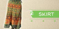 online Indian Printed Jaipuri Print skirt from Handicrunch