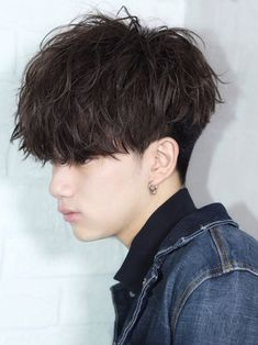 【メンノン風前下がりラフフォワードマッシュ】 FRONT Boy Hairstyles, Hairdos, Korean Men, Real People, Boyfriend Material, Short Hair Cuts, Hair Inspiration, Curly Hair Styles, Wigs