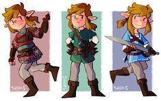Breath of the Wild Link doodles. (My first drawing of eagerly counting down to March. Breath of the Wild Link Doodles Twilight Princess, Princess Zelda, Zelda Video Games, Legend Of Zelda Breath, Wind Waker, Breath Of The Wild, Cute Art, Illustration, Breathe