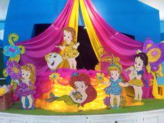 Disney Princess - Babies - Party Decoration  Standee / Cutout. $54.99, via Etsy.