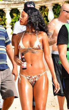Homecoming Queen Rihanna Shows Off Perfect Bikini Body In Barbados | Radar Online