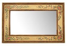 Painted Floral Mirror on OneKingsLane.com
