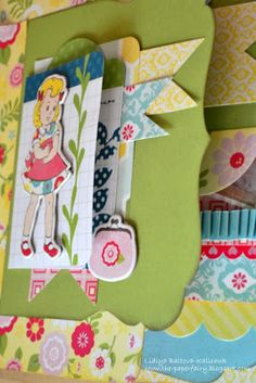 Echo Park Sweet Girl Mini Album - Paper Lane : Scrapbooking, Creative Arts and Crafts Supplier in the UAE