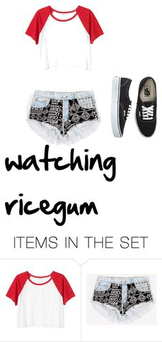 """read description but just watch him on youtube name ricegum heka funny i think"" by mistlyclouds ❤ liked on Polyvore featuring art"