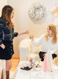 A Winter Wonderland Holiday Party - Inspired by This