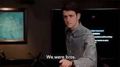 Hot GIF silicon valley bros zach woods donald dunn donald jared dunn we were bros