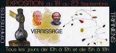 Vernissage de l'exposition de deux artistes du Loiret...