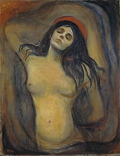 Edvard Munch, Madonna   See the best #Art installations in New York at www.artexperience...