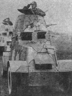 "Samochod pancerny wz.29 ""Ursus""Light armored vehicle, pin by Paolo Marzioli"