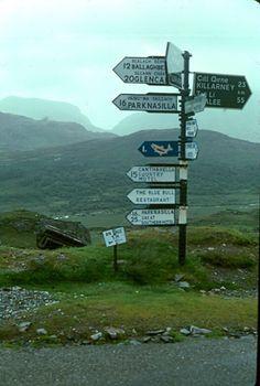 It looks like Glencar is sticking out there on the left! 20 more kilometers till the Climber's Inn. Images Of Ireland, Love Ireland, Ireland Travel, Irish Eyes Are Smiling, Irish Celtic, England And Scotland, Emerald Isle, British Isles, Northern Ireland