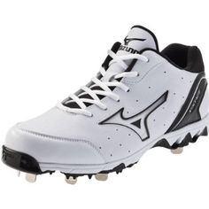 Mizuno 9-Spike Vintage 7 Switch Baseball Cleats Mizuno. $64.99 Baseball Scoreboard, Metal Baseball Cleats, Baseball Shoes, Soccer Cleats, Sports Shoes, Athletic Women, Athletic Shoes, Baseball Sunglasses, Baseball Equipment